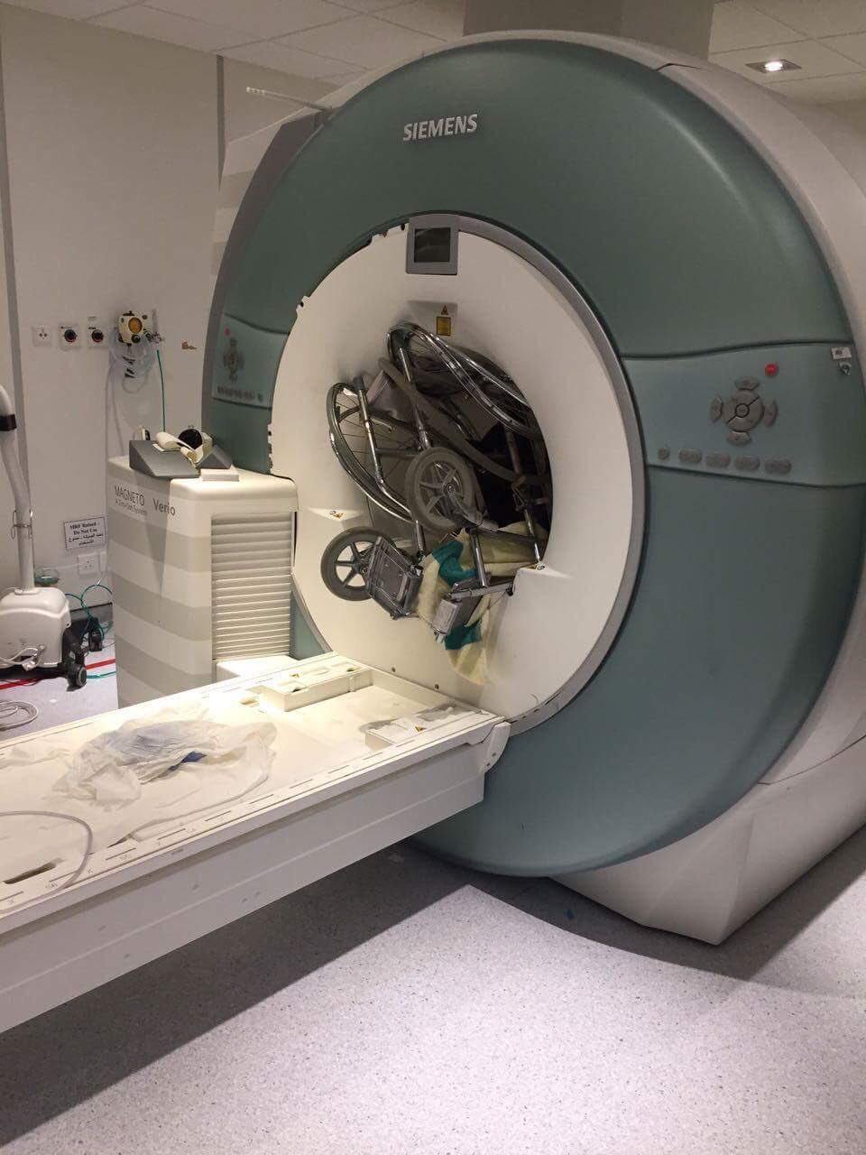 Засосало в МРТ