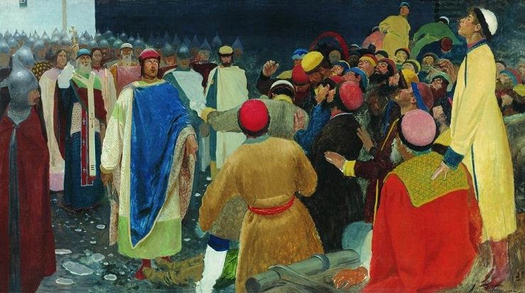 Как была устроена Новгородская республика