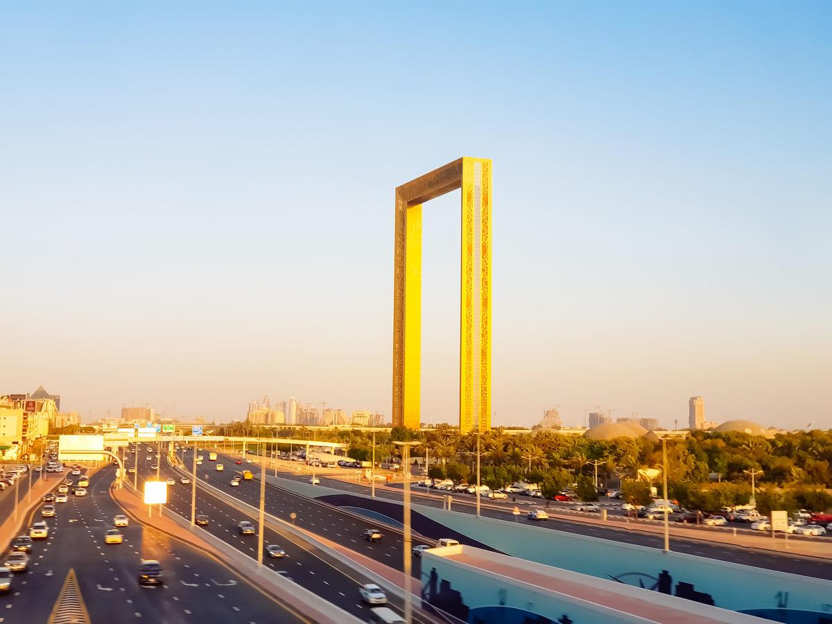 Гигантская Рамка Дубая