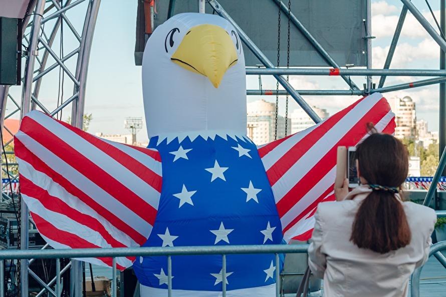 День независимости США в Екатеринбурге