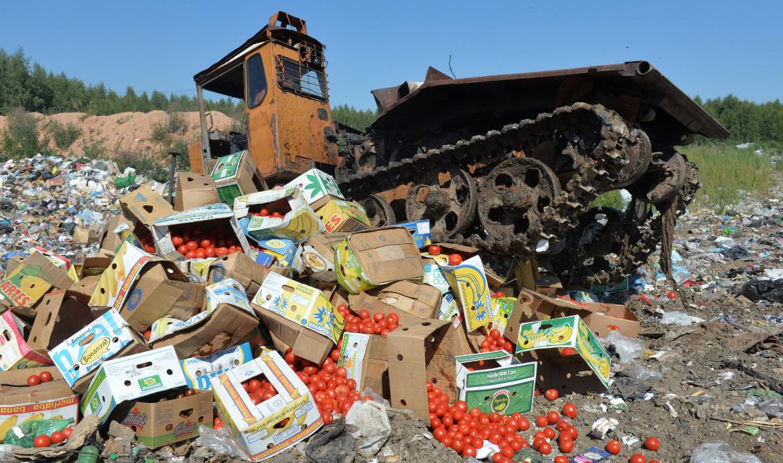 Нужно ли уничтожать санкционные продукты?