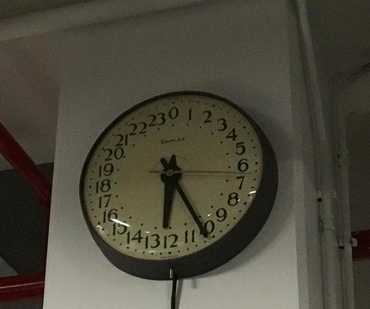 Сколько времени на часах?