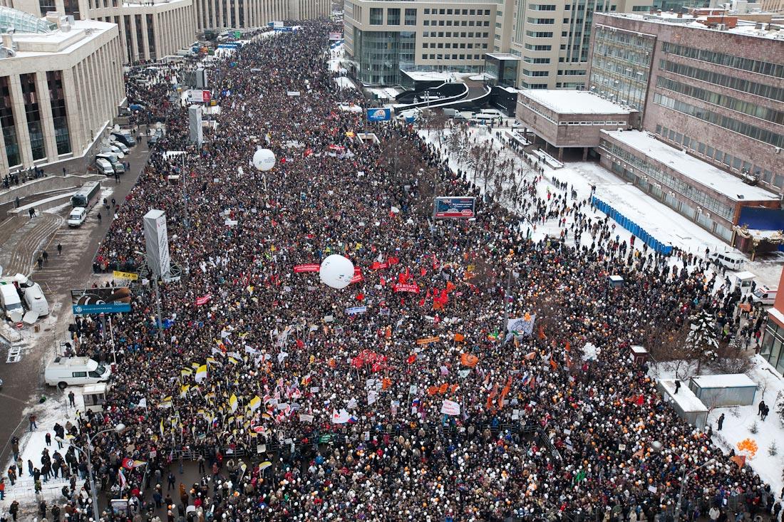 Почему для митинга не подходит проспект Сахарова?