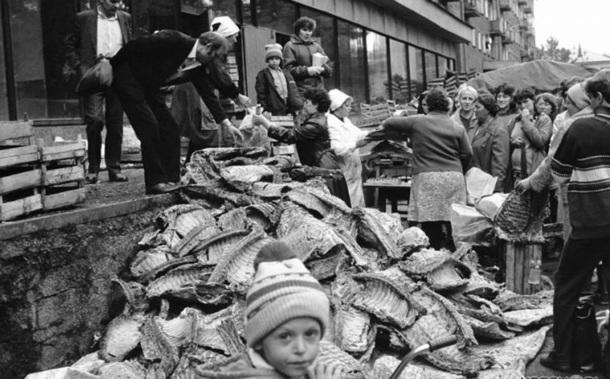 Как за 40 лет изменился рацион россиян