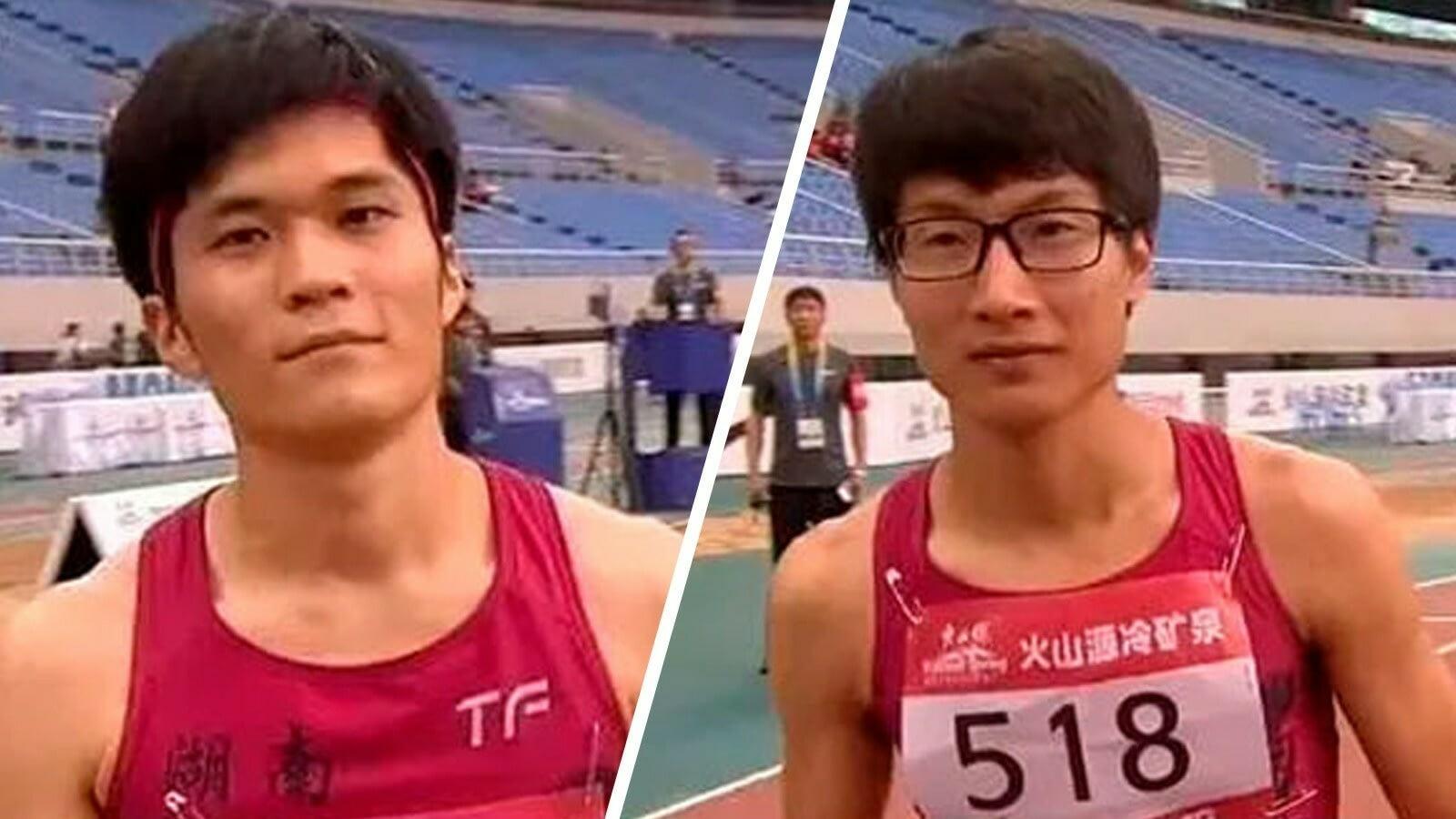 Двух китайских легкоатлеток заподозрили в том, что они - мужчины
