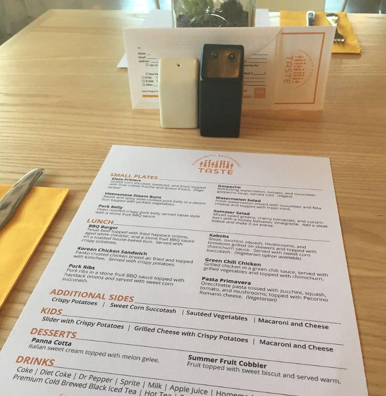 Ресторан, в котором на блюда нет цен