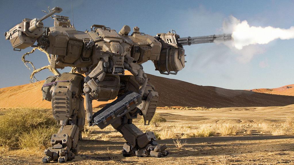 Продается гигантский боевой робот
