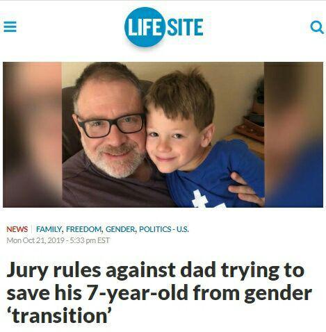 Суд отказал отцу, который не допускал смену пола у 7-летнего сына
