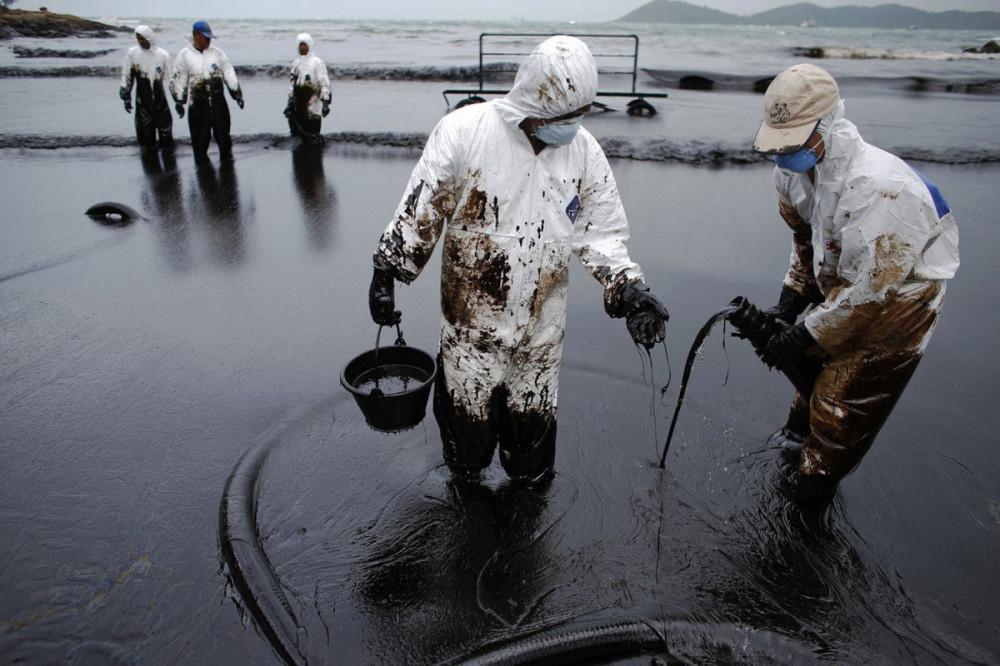 Уникальная разработка российских ученых по очистке нефтяных загрязнений