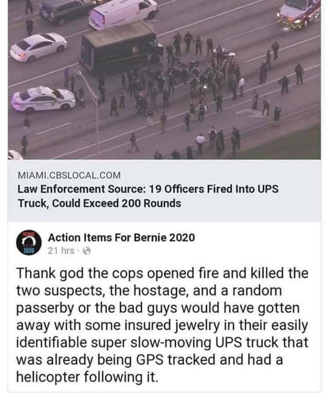 Полицейские в США прячутся за гражданскими людьми от выстрелов грабителей