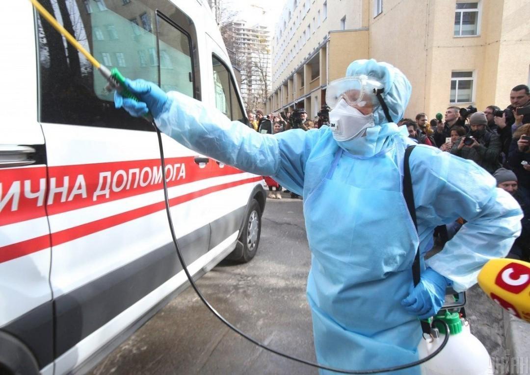 На Украине первая смерть от коронавируса