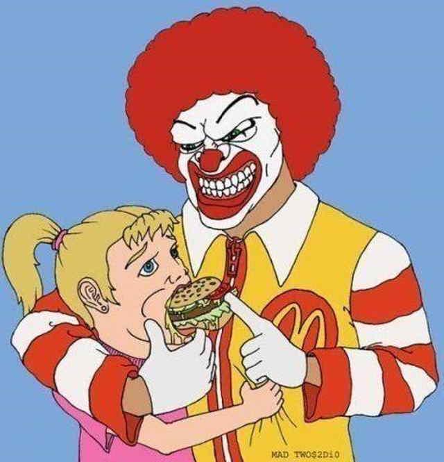 """Почему поддерживают """"Макдональдс"""", а не """"Теремок""""? Экономика"""