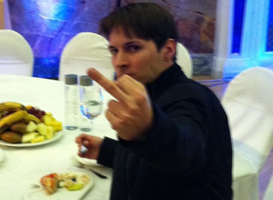 И тут Павел Дуров прозрел...