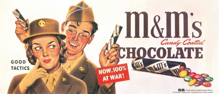 Как появился M&M's Как это было