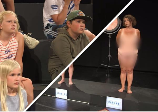 Нужно ли детям показывать голых людей?