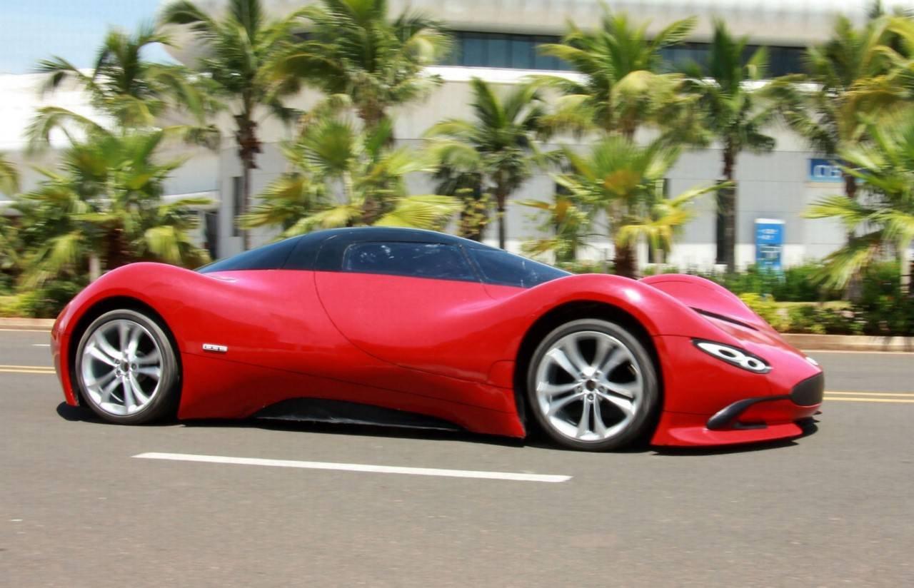 Китайский самодельный суперкар Авто