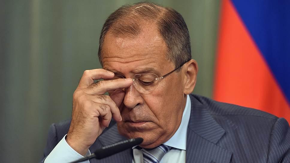 Почему Лаврова должны снять с должности? Политика