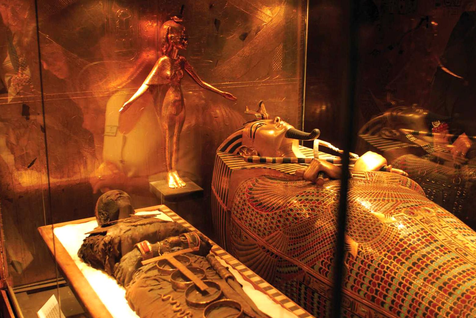 Что носили фараоны Древнего Египта? Древности