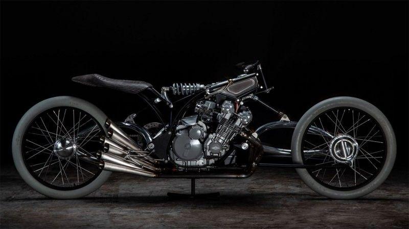 """Необычный мотоцикл """"The Six"""" Авто"""