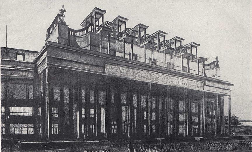 Сталинский Колизей Архитектура,Москва