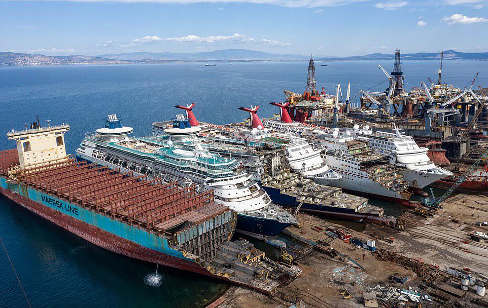 Круизные лайнеры под нож Коронавирус,Корабли