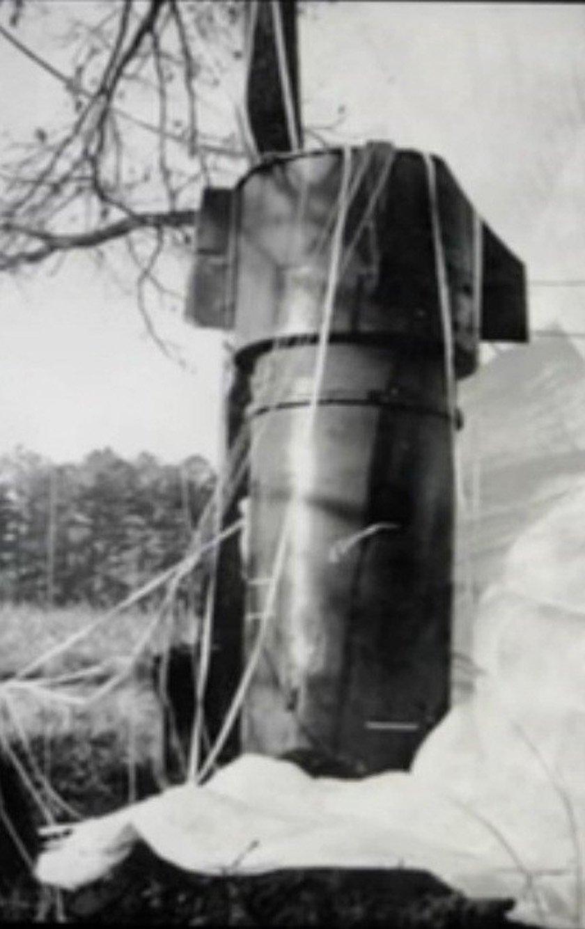 Где лежит потерянная атомная бомба?