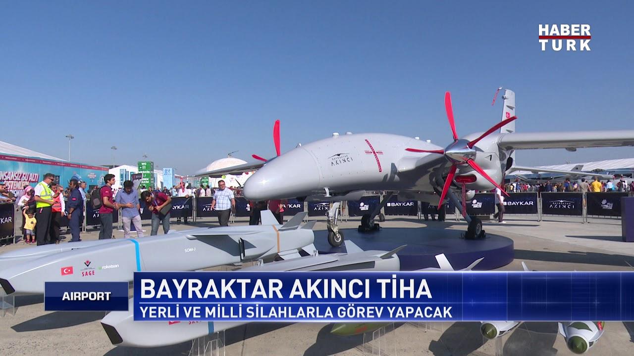 Bayraktar Akinci: крупнейший турецкий ударный беспилотник Турция,Авиация,Оружие