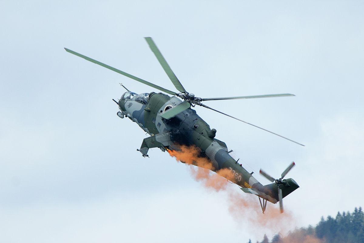 В Армении сбили российский вертолёт Азербайджан