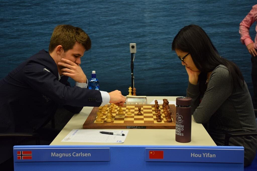 Почему женщины и мужчины играют в шахматы раздельно? Спорт