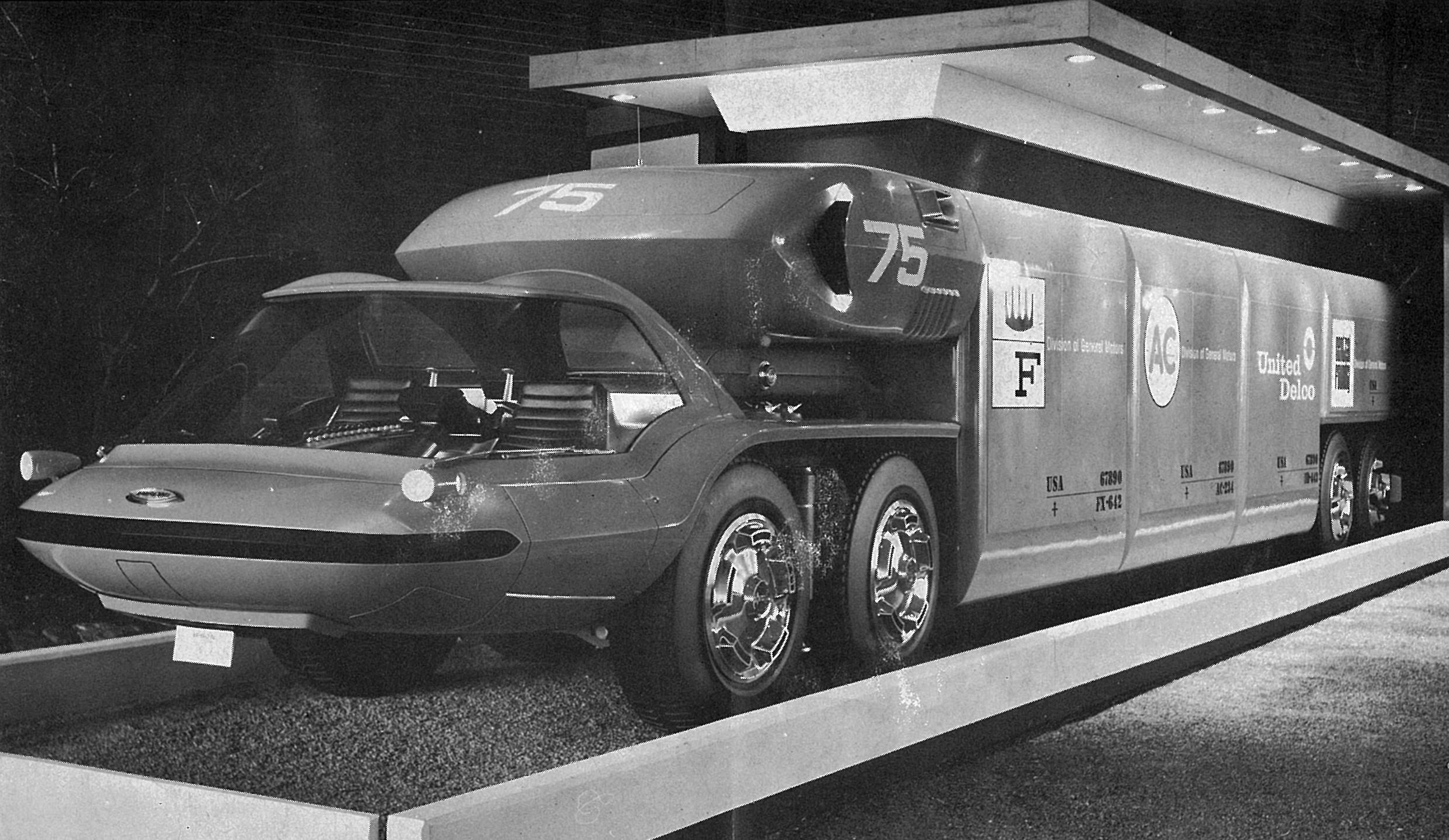 Футуристический тягач Chevrolet Авто