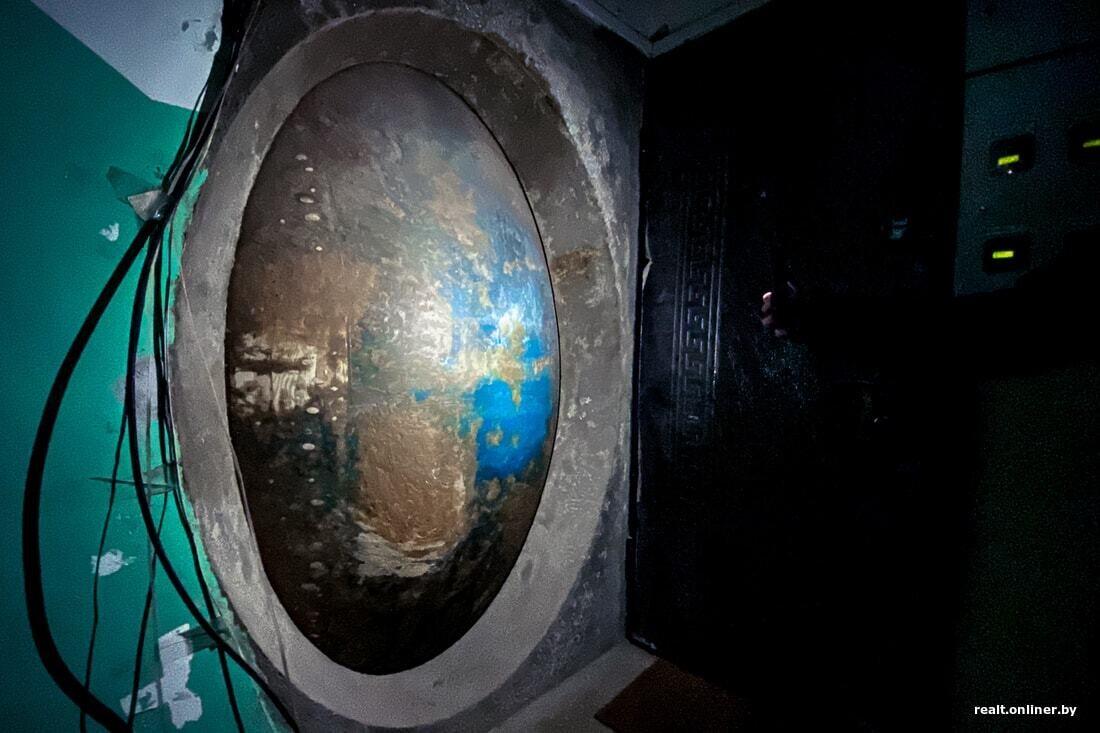 Загадочный бункер в минской пятиэтажке Белоруссия
