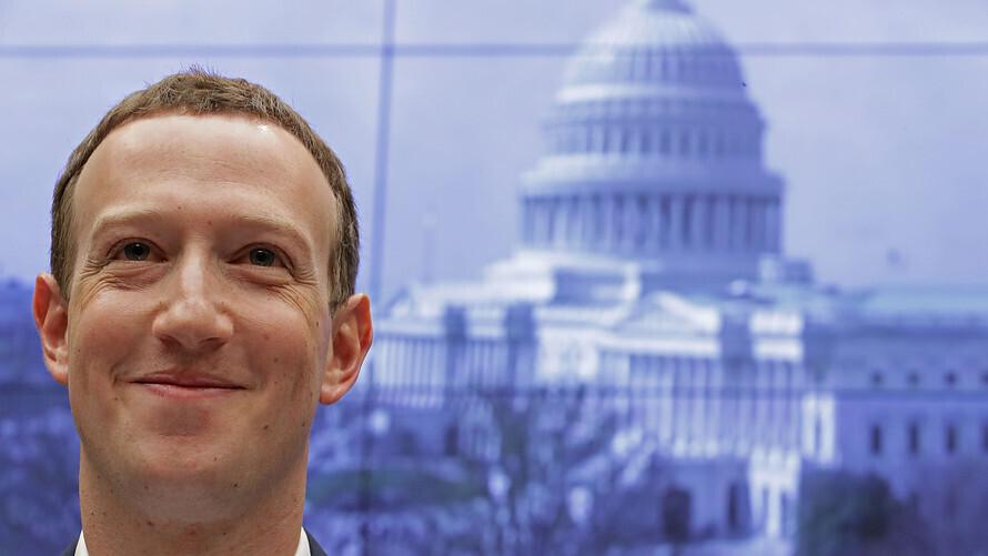 Марк Цукерберг заблокировал Президента США Интернет,США