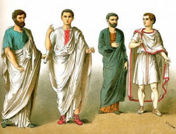 Как одевались древние римляне в холодную погоду