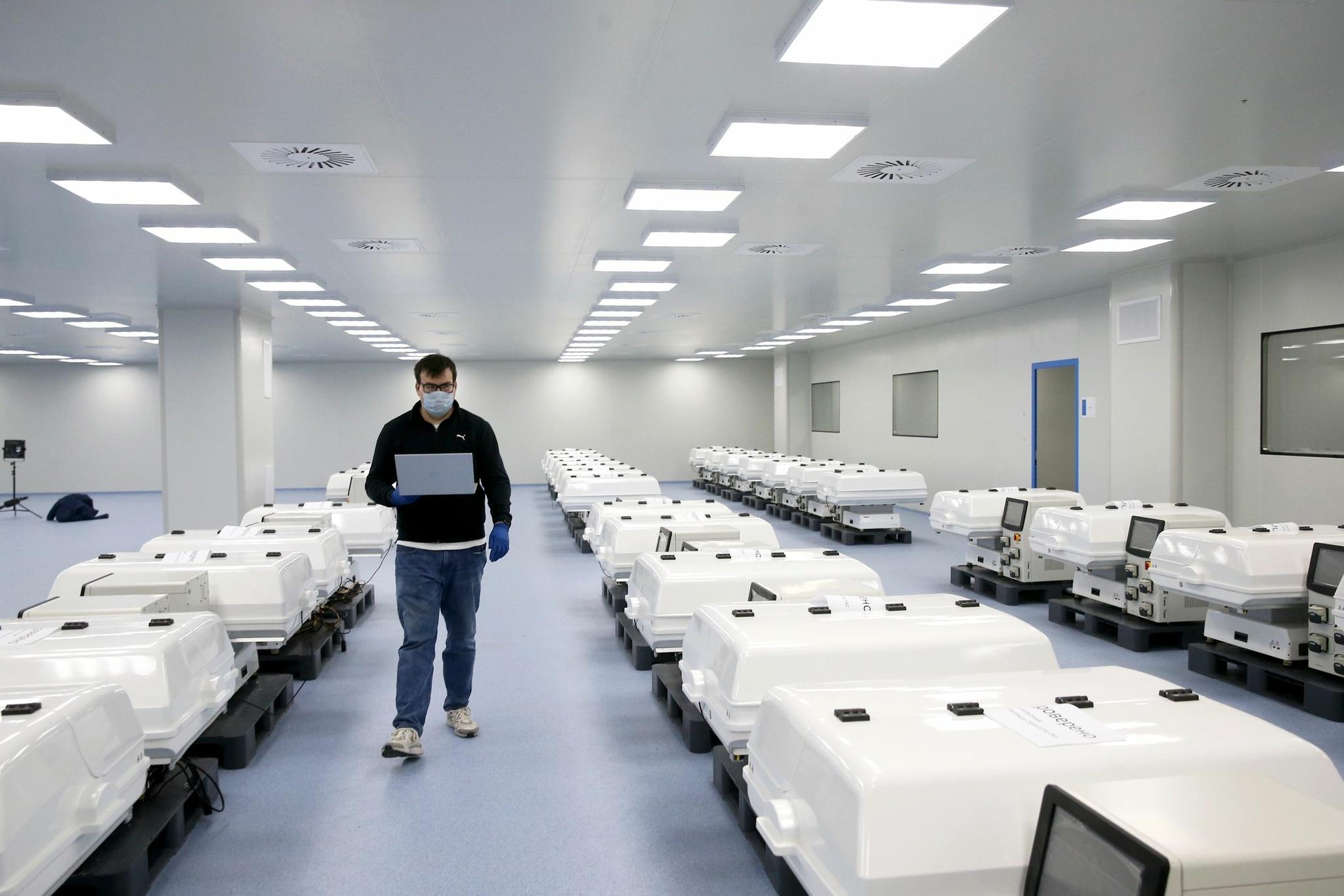 Московский завод будет производить 10 миллионов доз вакцины в месяц Коронавирус