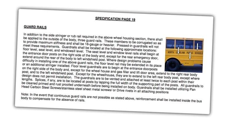 Зачем на школьных автобусах в США черные полосы? Авто