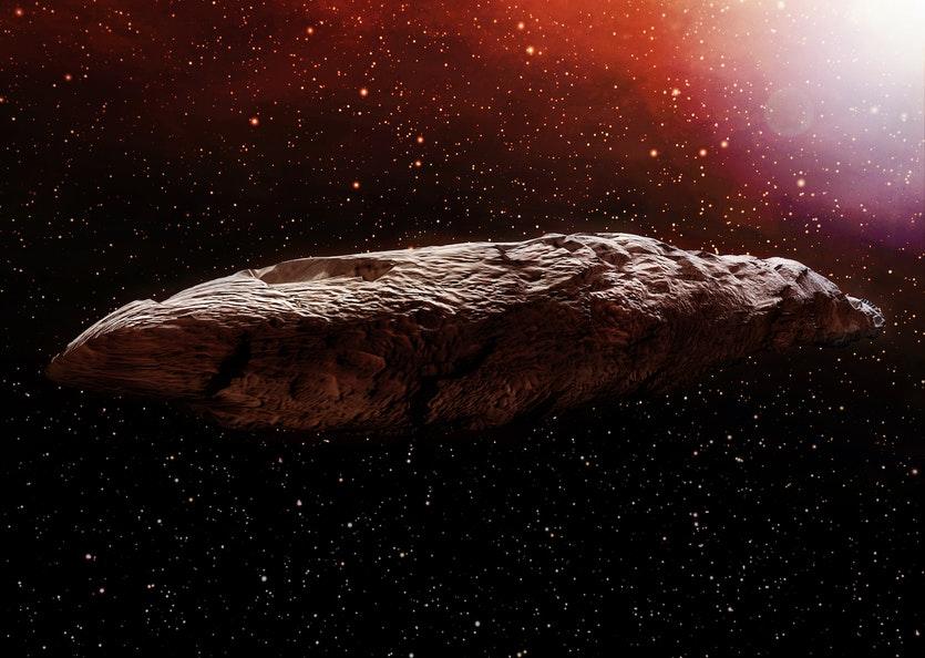 Установлено происхождение межзвездного объекта Оумуамуа Космос