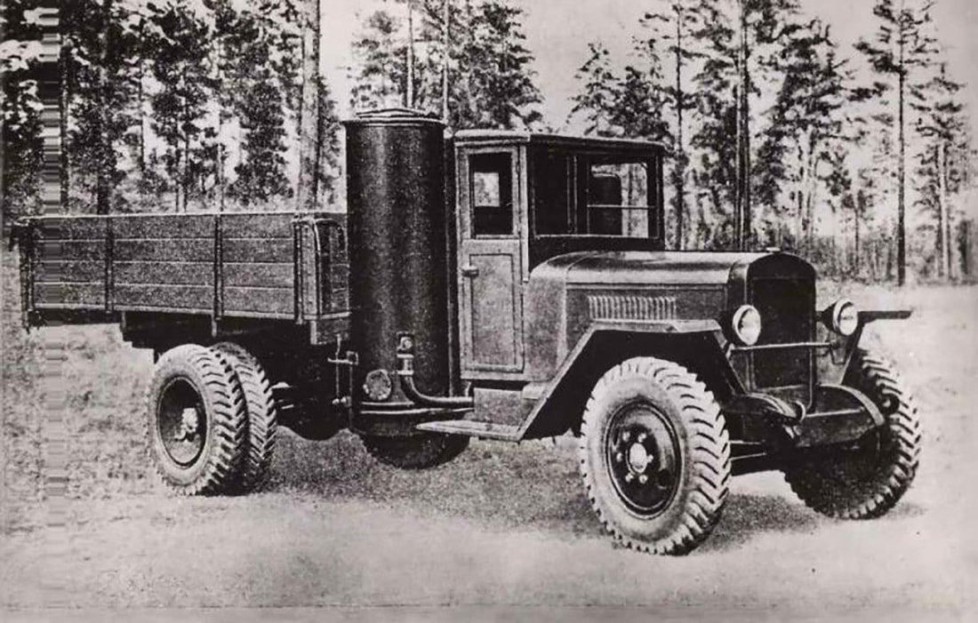 УАЗ на дровах Энергия,Технологии,Авто