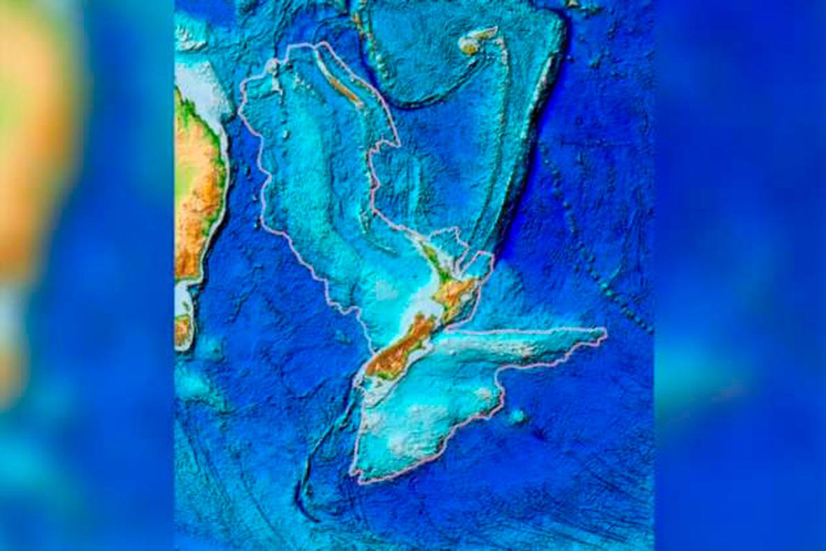 7-ой континент, который на 94% находится под водой