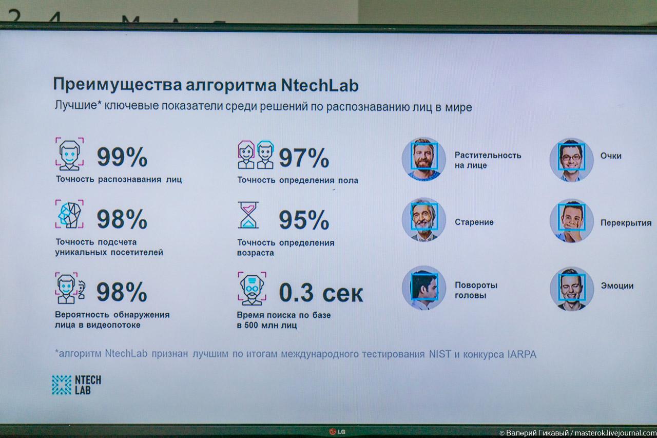 Алгоритм распознавания лиц NtechLab признан лучшим в мире Технологии