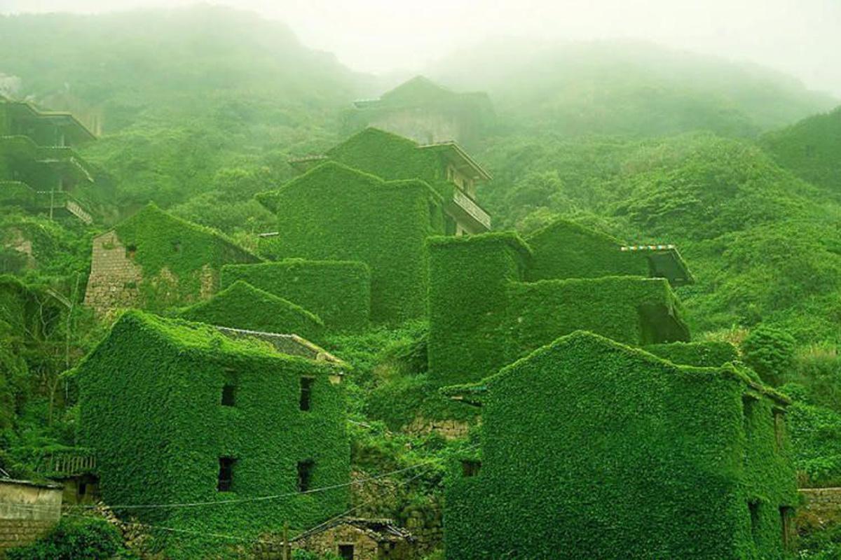 Заброшенный город Гуки Китай