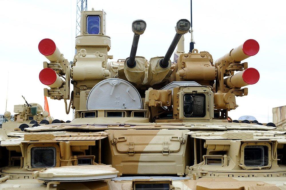 """В России начали создавать образцы тяжелого робота """"Штурм"""" Танки,Оружие"""
