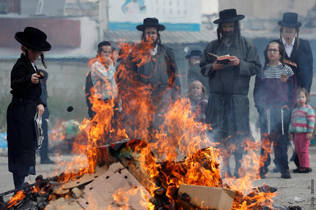 Зачем в Израиле устраивают массовое сжигание хлеба Израиль