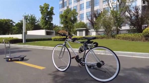 Китайский инженер создал самобалансирующийся велосипед