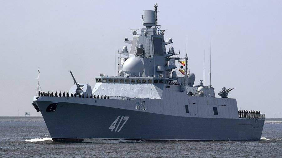 Двигатели для новых российских фрегатов Корабли