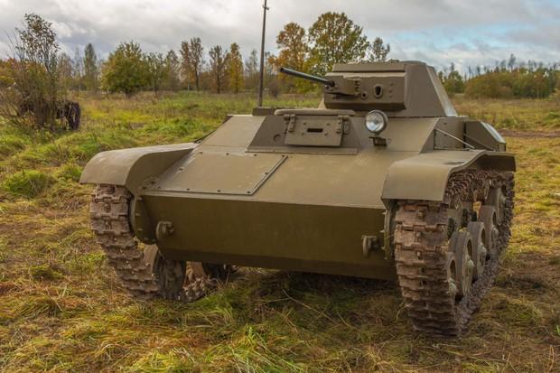 Короткая история летающего танка Танки