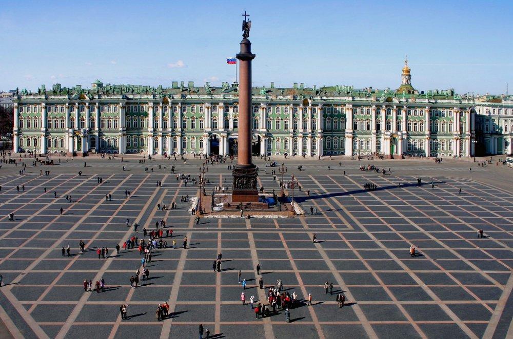 А как на самом деле поднимали Александровскую колонну?