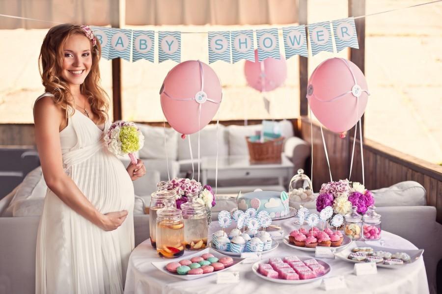 вечеринка перед рождением ребенка Юлианна Караулова