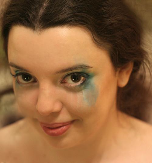 карина с макияжем
