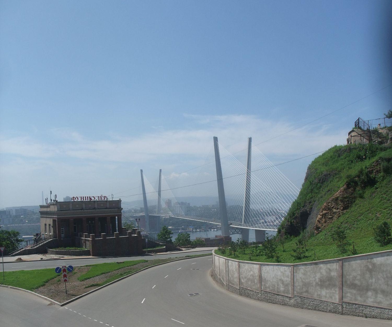 мост с моста