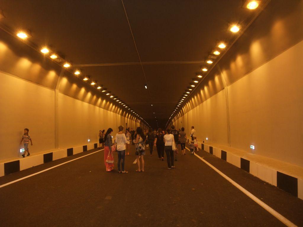 2. В туннеле